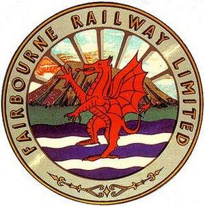 Fairbourne Railway - Image: Original crest