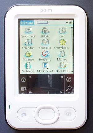 Z22 (handheld) - Image: Palm Z 22