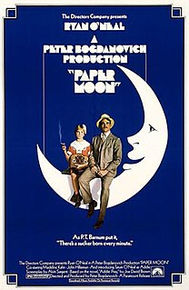 <i>Paper Moon</i> (film) 1973 film by Peter Bogdanovich