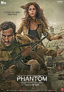 <i>Phantom</i> (2015 film) 2015 Indian action thriller film directed by Kabir Khan