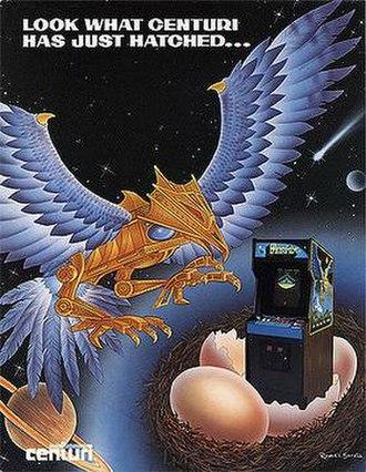 Phoenix (video game) - Phoenix arcade flyer