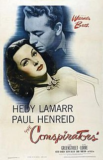 <i>The Conspirators</i> (1944 film) 1944 film by Jean Negulesco