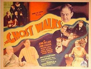 The Ghost Walks - Image: Poster of the movie The Ghost Walks