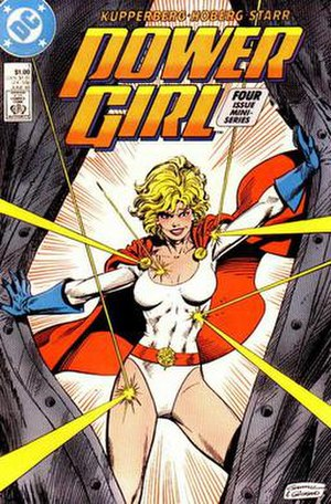 Kerry Gammill - Image: Power Girl (1988) 1