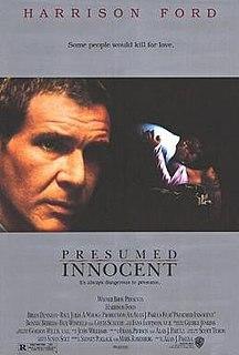 <i>Presumed Innocent</i> (film) 1990 film by Alan J. Pakula