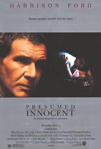 Presumed Innocent (film) - Theatrical release poster