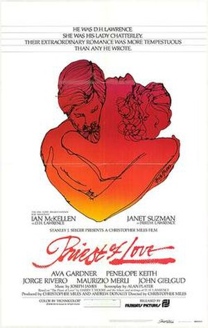 Priest of Love - Theatrical film poster