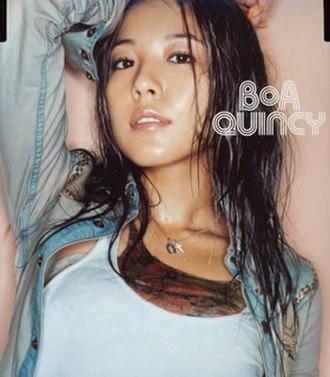 Quincy (song) - Image: Quincy Kono Yo No Shirushi Bo A