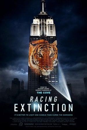 Racing Extinction - Theatrical release poster