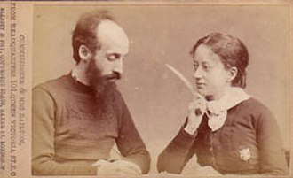 George Scott Railton - Commissioner and Mrs Railton photographed in Germany in 1886
