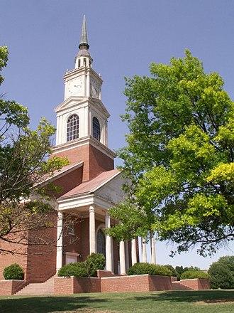 Oklahoma Baptist University - Raley Chapel