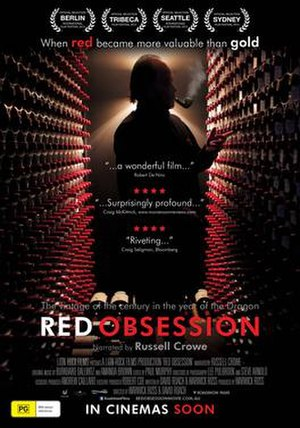 Red Obsession - Image: Red Obsession poster