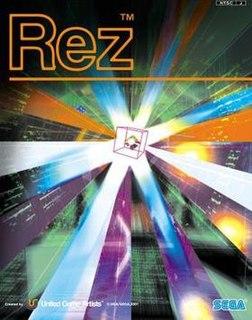 <i>Rez</i> 2001 rail shooter video game