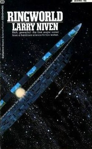 Ringworld - Cover of first edition (paperback)
