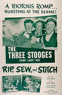 <i>Rip, Sew and Stitch</i> 1953 film by Jules White