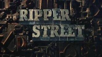 Ripper Street - Image: Ripper Street titlcard