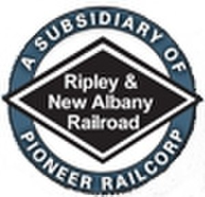 Ripley and New Albany Railroad - Image: Rnalogo