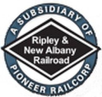 Ripley and New Albany Railroad - Image: Rnalogo