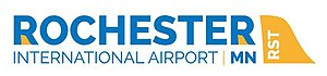 Rochester International Airport - Image: Rochester International Airport Logo