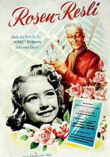 <i>Rose-Girl Resli</i> 1954 film