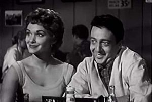 Eddie Ryder - Roxanne Arlen and Eddie Ryder, in Hot Rod Girl (1956).