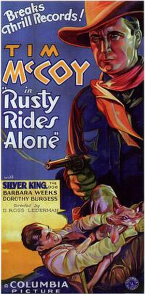 Rusty Rides Alone - Film poster