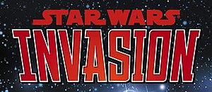 Star Wars: Invasion - Invasion logo Cover Art by Wes Dzioba