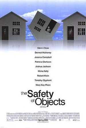 The Safety of Objects - Theatrical release poster