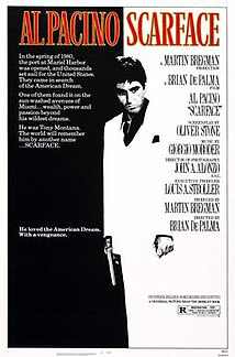<i>Scarface</i> (1983 film) 1983 crime drama film directed by Brian De Palma