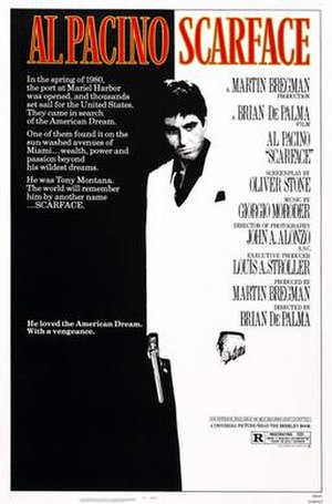 Scarface (1983 film) - Theatrical release poster