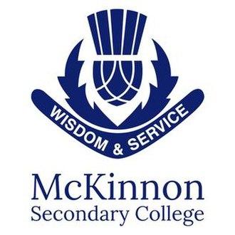 McKinnon Secondary College - Image: School Logo for Mckinnon Secondary College