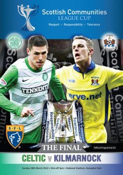 Scottish League Cup final programme 2012.jpg