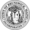 Official seal of Town of Brunswick