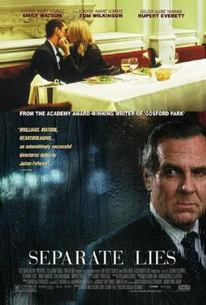 Separate Lies - Theatrical release poster