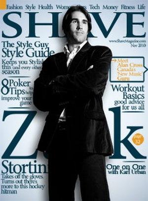Shave (magazine) - September 2010 Cover