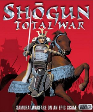 Shogun: Total War - The box art for Shogun: Total War