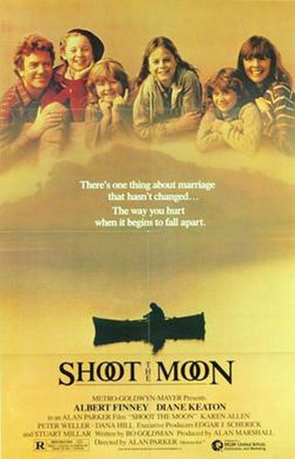 Shoot the Moon - Theatrical release poster