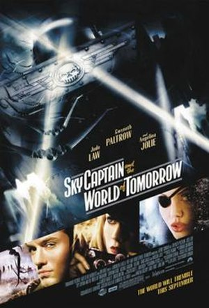 Sky Captain and the World of Tomorrow - Theatrical release poster