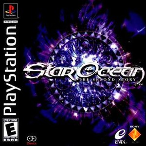 Star Ocean: The Second Story - North American PlayStation cover art