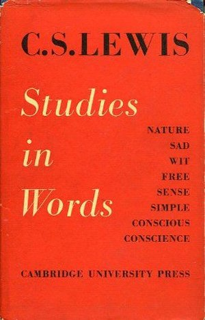 Studies in Words - First edition