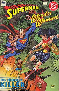 <i>Superman and Wonder Woman: The Hidden Killer</i>