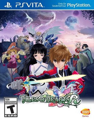 Tales of Hearts - Image: Tales of Hearts R cover