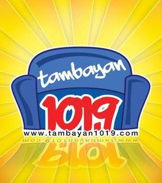 DWRR-FM - The former logo of Tambayan 101.9 from November 4, 2009-May 2013.