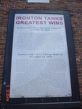 Ironton Tanks - Image: Tanks greatest wins