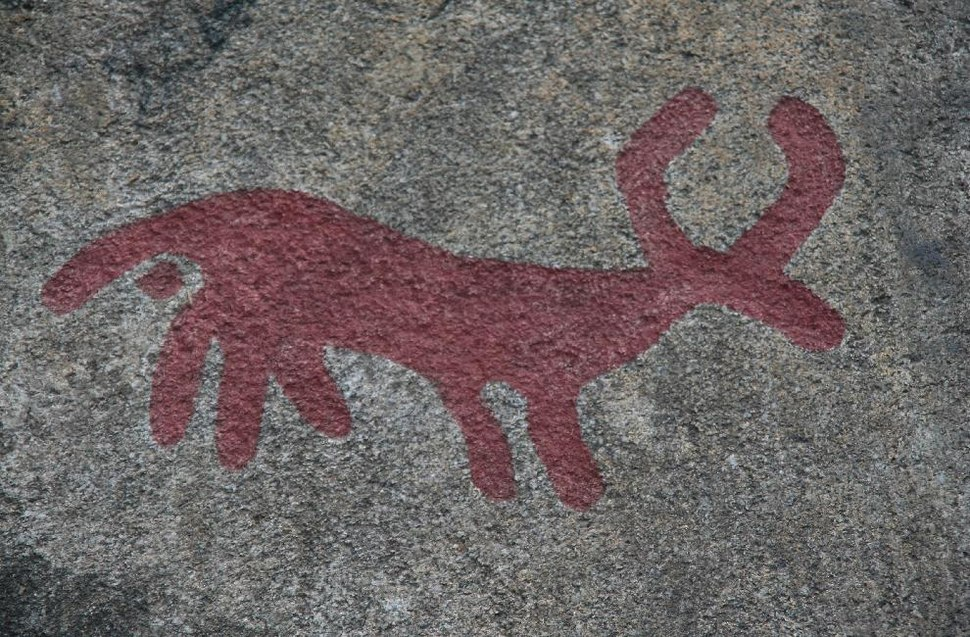 Tanumshede Rock Carving