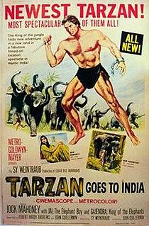 <i>Tarzan Goes to India</i> 1962 film by John Guillermin