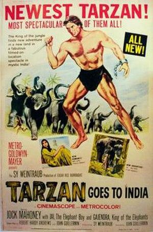 Tarzan Goes to India - Image: Tarzan Goes to India (movie poster)