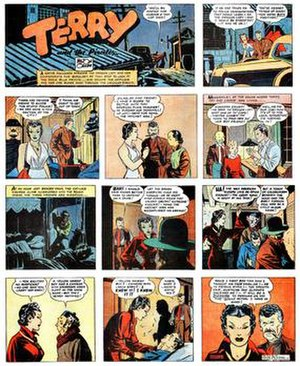 Dragon Lady (Terry and the Pirates) - Milton Caniff's Terry and the Pirates (September 27, 1936).