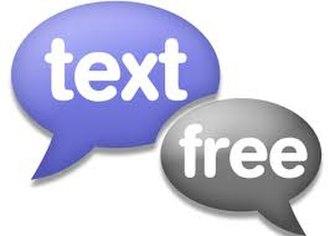 Textfree - Image: Textfree logo