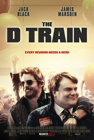 The D Train - Theatrical release poster